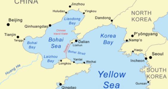 Letak laut Bohai (foto: green4sea.com)
